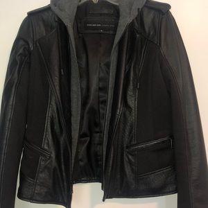 Marc New York Black Leather Jacket